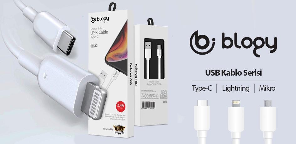 Blogy USB Kablo Serisi